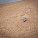 Thomas the Train in Sand